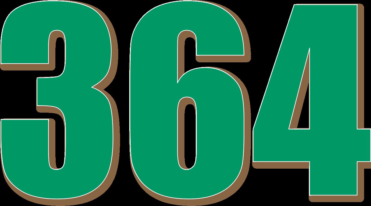 ... 364 — изображение числа триста шестьдесят четыре (картинка ...